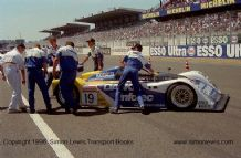 RILEY & SCOTT Oldsmobile. Pace/Taylor/Sharp Le Mans 1996 .Before the start. Photo